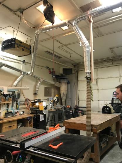 the wood shop!